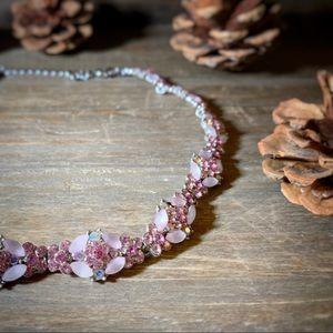 Jewelry - Pink Rhinestone Collar Necklace